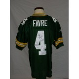 Packers Authentic Style Home Jersey Autographed by Brett Favre (#4)