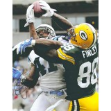 "11""x14"" Photo ""All Wrapped Up"" Autographed by Jermichael Finley (#88)"