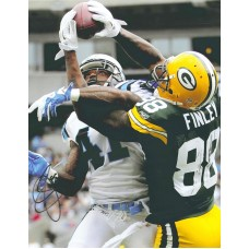 """11""""x14"""" Photo """"All Wrapped Up"""" Autographed by Jermichael Finley (#88)"""