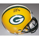Packers Helmet Autographed by BJ Raji (#90)