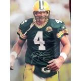 "16"" x 20"" Photo ""Taking the Field"" Autographed by Brett Favre (#4)"