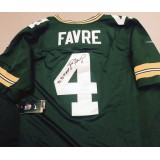 Packers Home MVP Jersey Autographed by Brett Favre (#4)