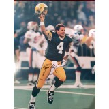 """16"""" x 20"""" Photo """"The Kid"""" Autographed by Brett Favre (#4)"""
