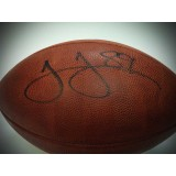 Authentic NFL Football Autographed by James Jones (#89)