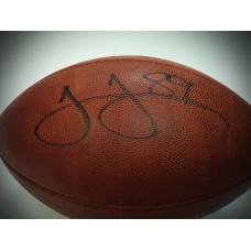 Authentic NFL Football Autographed by James Jones (#89)