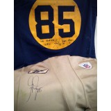 Greg Jennings (#85) Game Worn Throwback Jersey (12/05/10 vs. 49ers)